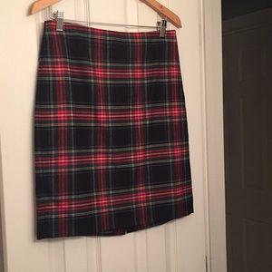 JCrew wool blend pencil skirt.
